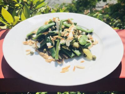 Mixing With Mandy Walnut Tahini and Green Beans
