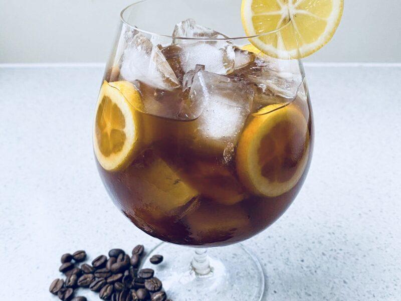Mixing With Mandy Iced Coffee Lemonade