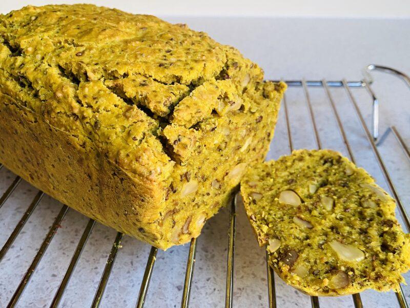 Hemp Turmeric Nut Bread